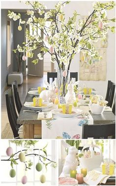fun centerpiece for easter