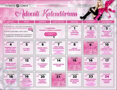 Fitness Junkie Adventi kalendárium
