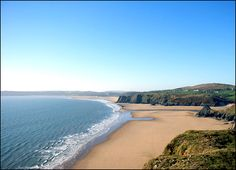 Oxwich bay, The Gower