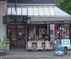 Seattle, WA -- Cafe Ladro, Capitol Hill,    Caffe Ladro has an attractive coffee house on 15th Avenue at the top of Capitol Hill