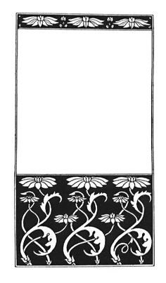 Cover Design for 'Discords' by Aubrey Beardsley