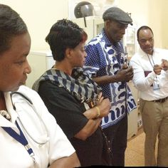 """""""Children have to talk to someone, a friend or whomever, if they are abused. They have to know that they are special and they are our future"""", said UNICEF Regional Goodwill Ambassador Oliver Mtukudzi during the visit to the health center in Namaacha."""