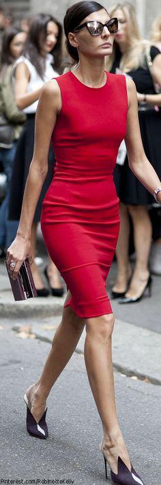 Giovanna Battaglia | MFW Street Style