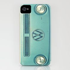 Blue VW i phone case. :) I've always wanted to drive cross country in a Blue VW!