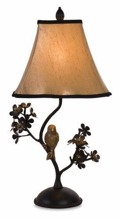 Revamp with Vintage Accents Bird Branch Table Lamp Desk Lamp, Table Lamp, Kitchen Lamps, Bird On Branch, Chandelier Lamp, Chandeliers, Fashion Room, Lamp Shades, Home Lighting
