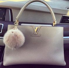 Grey Louis Vuitton Handbag
