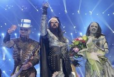 Lordi, a heavy metal band who won Eurovision in 2006
