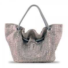 Susan Nichole Vegan Handbag Style #143 - Roxy in Silver