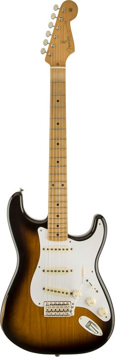 Fender Road Worn '50s Stratocaster Electric Guitar Few things in this world have gotten cooler with age than the Stratocaster guitar. Born in the'50s, they became even cooler after years of use (and a