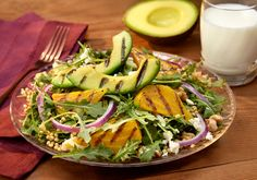 Click to view larger image of Grilled Avocado and Chioggia Beet Salad : Fill Half Your Plate with Fruits & Veggies : Fruits And Veggies More Matters.org