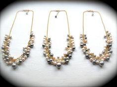 Custom Bridesmaid Necklaces.