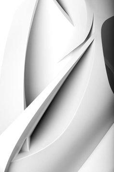 Minimal Luxury // Peeta graffiti sculptures in white
