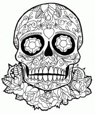 Coloring Pages Terrific Sugar Skull Coloring Pages Coloring Page Abstract Coloring Pages, Adult Coloring Book Pages, Printable Adult Coloring Pages, Coloring Pages To Print, Mandala Coloring, Coloring For Kids, Coloring Sheets, Coloring Pages For Kids, Coloring Books