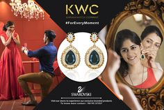 Whatever the moment, we have a plan for you. #KWC #SWAROVSKI #ForEveryMoment Contact us on 9819537357