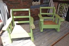 Before. Patio set Outdoor Chairs, Outdoor Furniture, Outdoor Decor, Painted Furniture, Patio, Projects, Home Decor, Log Projects, Homemade Home Decor