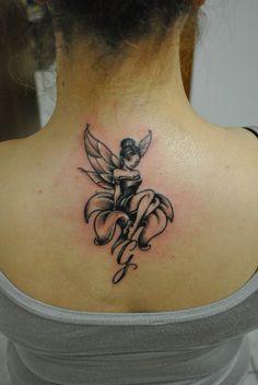 girl – tattoos for women small Pixie Tattoo, Mädchen Tattoo, Cover Tattoo, Mehndi Tattoo, Fairy Tattoo Designs, Tattoo Designs For Women, Tattoos For Women Small, Angel Tattoo For Women, Foot Tattoos