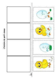 Sequencing Cards, Sequencing Activities, Easter Activities, Toddler Activities, Kindergarten Portfolio, Kindergarten Activities, Classroom Activities, Preschool Activities, Picture Story Writing