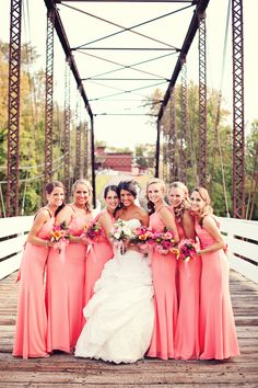 I would love for my bridesmaids to have full length dresses. They flatter almost everyone and photograph beautifully. Photo by Ashley B. #WeddingPhotographersMN
