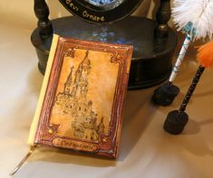 Fairy Tale Book Enchanted Castle, Book Making, Once Upon A Time, Empty, 3 D, Fairy Tales, Plywood, Books, Phoenix