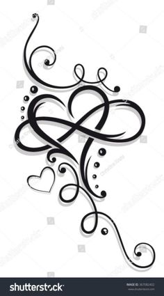 Heart And Infinity, Tattoo For