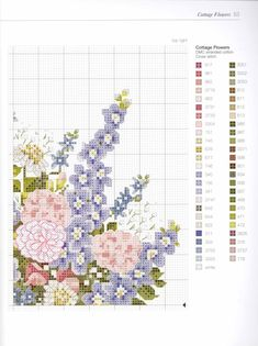 Gallery.ru / Фото #45 - Cross Stitch Flowers - Orlanda
