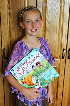 All Things Bright And Beautiful Hardcover Book giveaway 7/21/2016 US/Canada