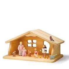 Spielzeug Bauernhof klein Tiere  Holztiere Tiere NEU Erzgebirge Spielen Erleben