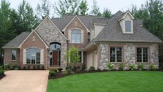 Gray Home Exteriors With Stone Bing Images Collette Parkinson Brick And Combinations