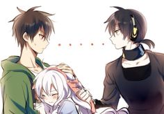"This reminds me ""Childish War"" by Vocaloid Rin&Len<<<< Bahahaha xD Seto's just like ""No. Mine."""