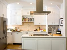 White Kitchen Cabinets: Pictures, Options, Tips & Ideas
