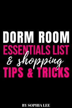 im so excited to move into my dorm but dont really know where to start when it comes to dorm shopping. these tips really helped me and my roommate in finding the best things and not over packing!! Pink Dorm Rooms, Boho Dorm Room, Cute Dorm Rooms, Freshman Quotes, Inspiration Room, College Dorm Organization, Dorm Shopping, Dorm Room Designs, College Dorm Decorations