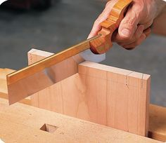 May have to give it a go one if these days  4 Tips for Dovetailing by Hand - Popular Woodworking Magazine