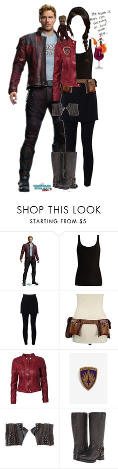 """Peter Quill's Wife 3"" by werewolf-gurl ❤ liked on Polyvore featuring Skin, Dolce&Gabbana, Rock'N Blue and Frye"