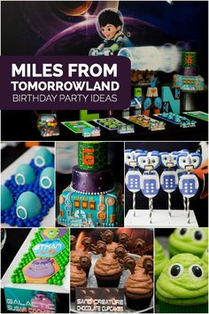 A Miles from Tomorrowland Inspired Boy's Birthday Party