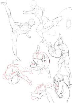 anatomi-model-karakalem-çizimleri-gfg