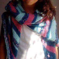 scarf/shawl #scarfs #shawl #knitwear #handmade Plexus Products, Scarfs, Plaid Scarf, Shawl, Knitwear, Instagram Posts, Handmade, Fashion, Moda