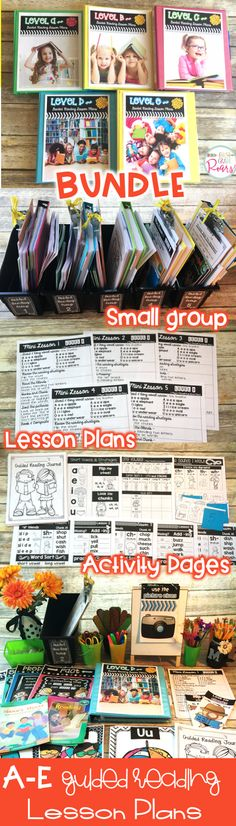 With very little prep, small group guided reading can be prepped in no time.  Read about how I already prepped my small group for next Fall.  Also grab a data binder cover and labels for you bins for free.  Activities, posters, and lesson plans all at your finger tips!