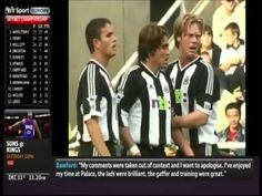 Newcastle United 4-3 Manchester United (Saturday 15th September 2001)