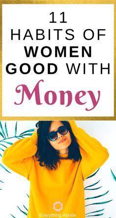 11 Financial Habits of Successful Women - Everything Abode Life Advice, Life Tips, Life Hacks, List Of Skills, Self Branding, Financial Stress, Successful Women, Money Management, Saving Money