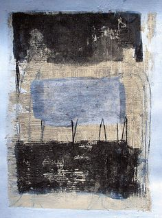 """Feels Like..."" Scott Bergey - mixed media on paper 2011"