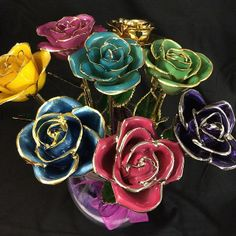 24K Gold Dipped Roses Perfect Gift To Show Your Mom How Much You Love