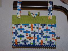 Vide-poches de lit à soufflets - Pas de tuto - Cotons sigrid fabrics sur alittlemercerie