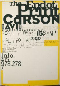 David Carson work