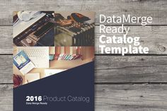 Data Merge Product Catalog by IFBdesign on @creativework247