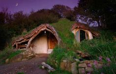Designed by Simon and Jasmine Dale, this hobbit home was designed and built as a low-impact home to ... - Simon Dale