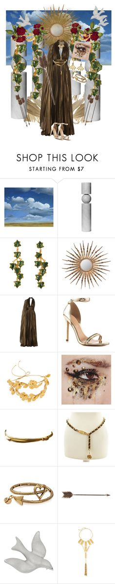 """Aphrodite"" by mb-magic-styles ❤ liked on Polyvore featuring Grandin Road, Lee Broom, Madina Visconti di Modrone, Safavieh, Elie Saab, ALDO, Jennifer Behr, Trifari, Chanel and Alex and Ani"
