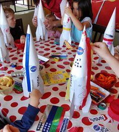 Украсьте ракеты бутылки легко и весело!