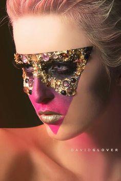 Gem avant garde makeup