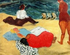 Beach Lizards - Milton Avery - The Athenaeum