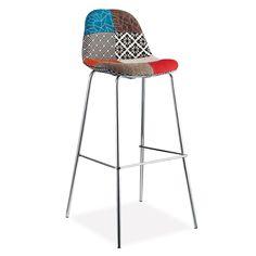 Taburete METAL COVER -tapizado PATCHWORK- (Taburetes) - Sillas de diseño, mesas de diseño, muebles de diseño, Modern Classics, Contemporary Designs...